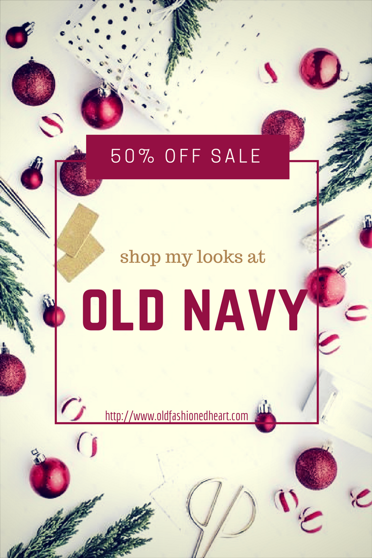 OLD NAVY 50% OFF SALE - Old Fashioned Heart