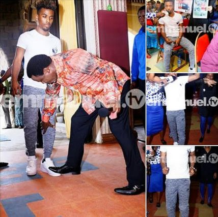 TB Joshua Prayed For Angel Gomes… and he made history