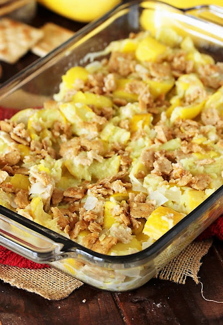 How to Make Mashed Summer Squash Casserole Image