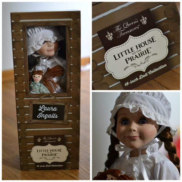 Laura Ingalls Little House Doll and Box