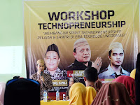 Workshop Technopreneurship Bersama Pustekkom Kemendikbud di Pesantren Al-Islah