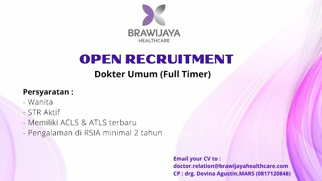 "Loker ""Brawijaya Health Care"" Jakarta"
