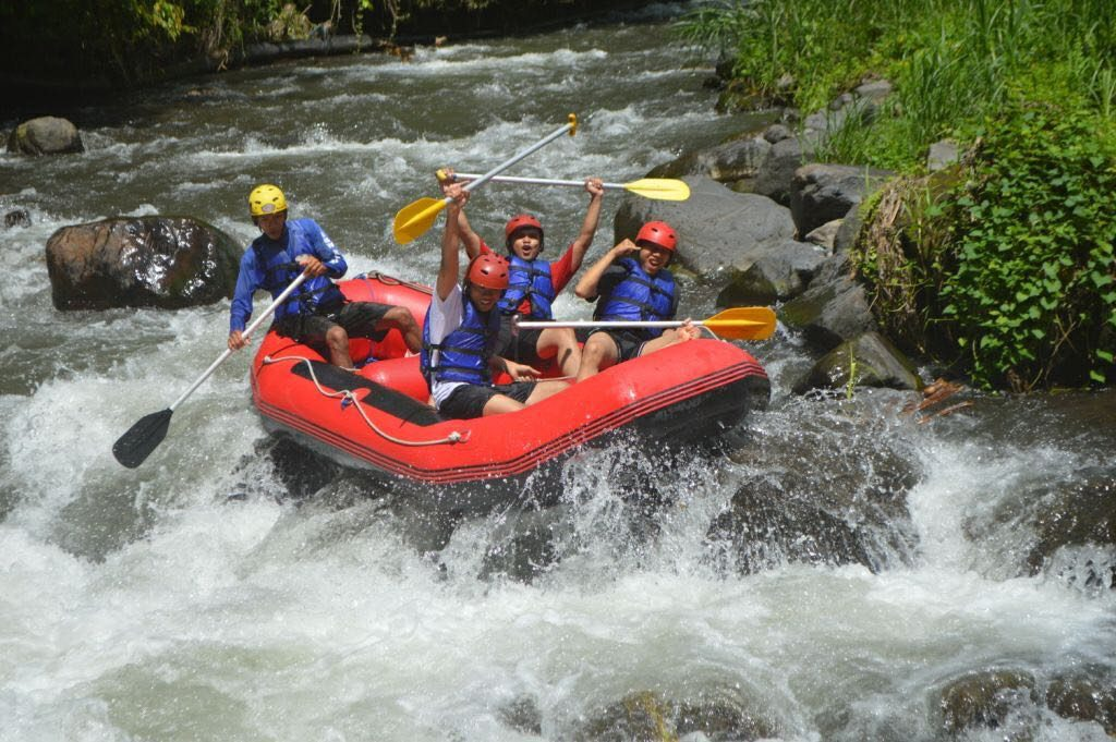 Bali white-water rafting with coffee plantation tour and ...