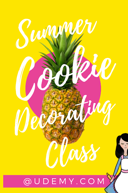Summer cookie decorating class @www.thecookiecouture.com