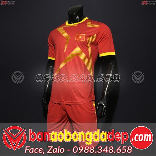 Áo Đội Tuyển Việt Nam Màu Đỏ 2020 Training 5