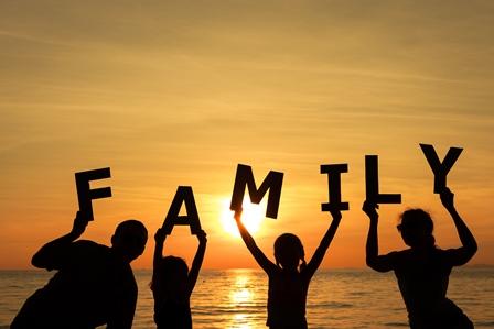 perpisahan, keluarga bahagia, family