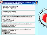 Jawatan Kosong di Kementerian Kesihatan Malaysia KKM - Mohon Sekarang!