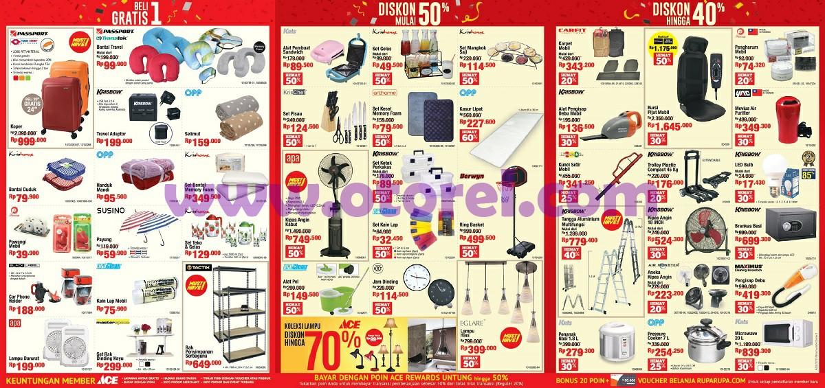 Promo Katalog Ace Hardware Terbaru Boom Sale 2017 - otorel