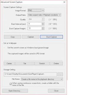 Gom Player Advanced Screen Capture