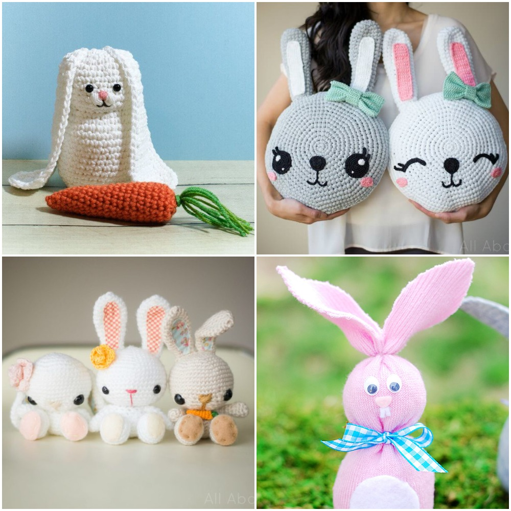 How To Make a Crochet Velvet Bunny | JOANN | 1000x1000