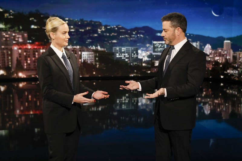 Brie Larson Clicks at Jimmy Kimmel Live 17 Dec-2019