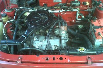 Foto Mesin Suzuki Forsa 4 Silinder
