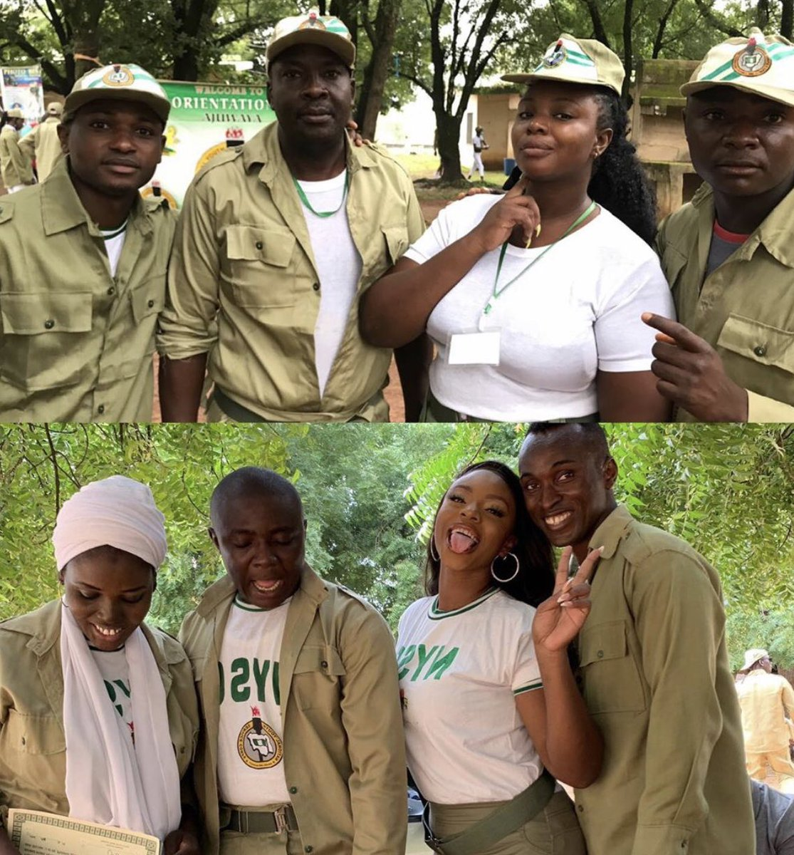 Photos: How She Started NYSC vs How She Finished - Corp Member Shows Off Her Body Transformation