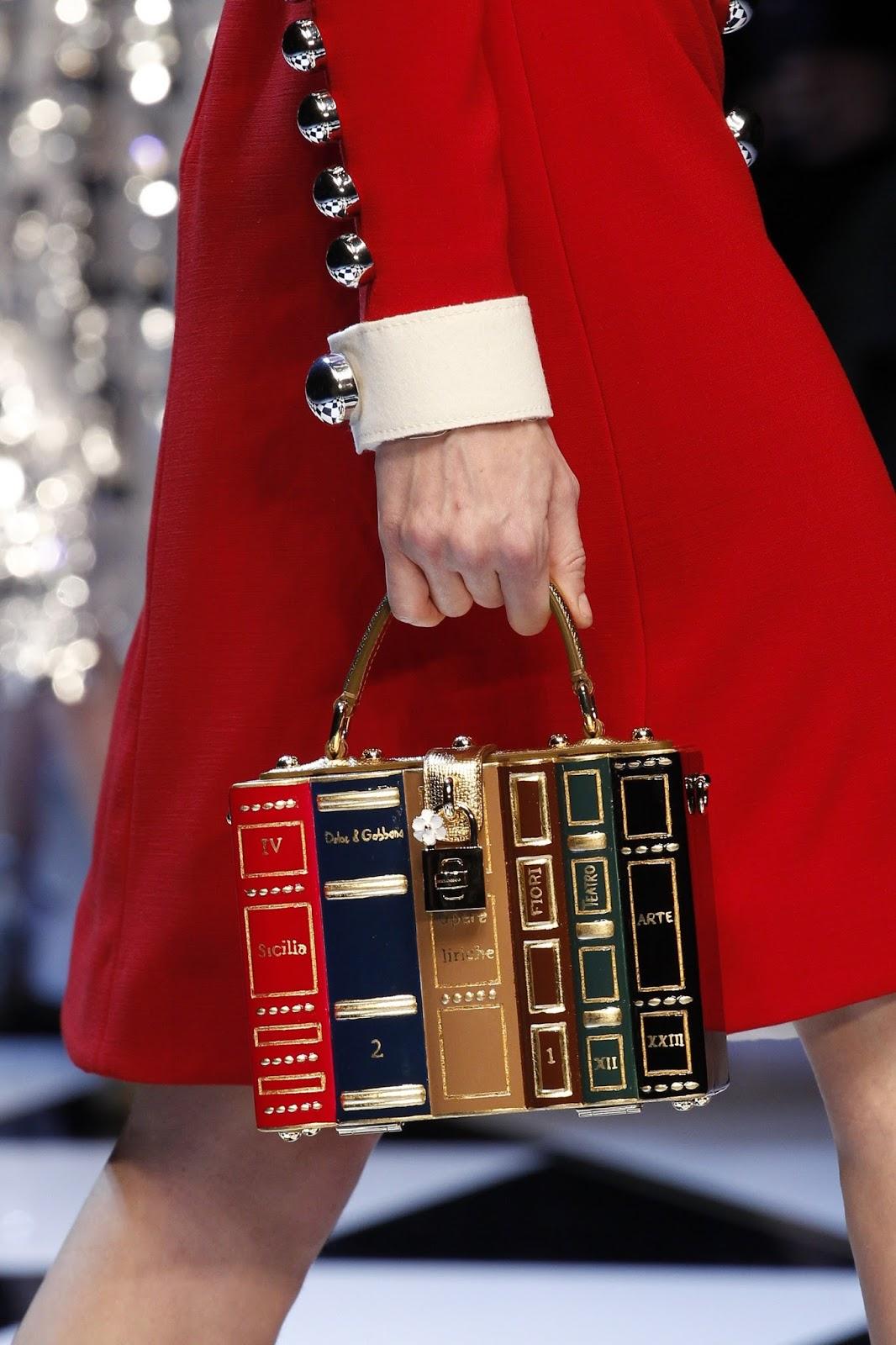 Dolce & Gabbana Encyclopaedia Box Bag