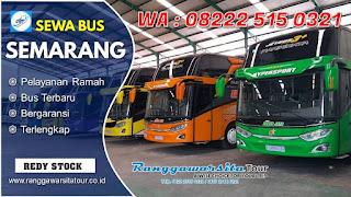 Harga Sewa Bus Semarang Terbaru 2020