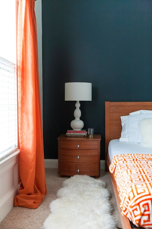 layered rugs in bedroom