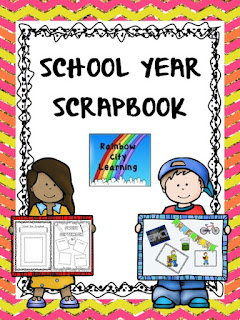 School Year Scrapbook Portfolio