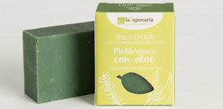 Naturalne mdło z aloesem La Saponaria