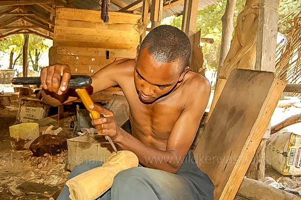 mombasa wood carver