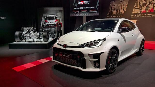 Harga dan Spesifikasinya Toyota GR Yaris 2020 Terbaru