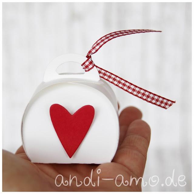 Stampin Up Mini-Zierschachtel mit Herz andi-amo