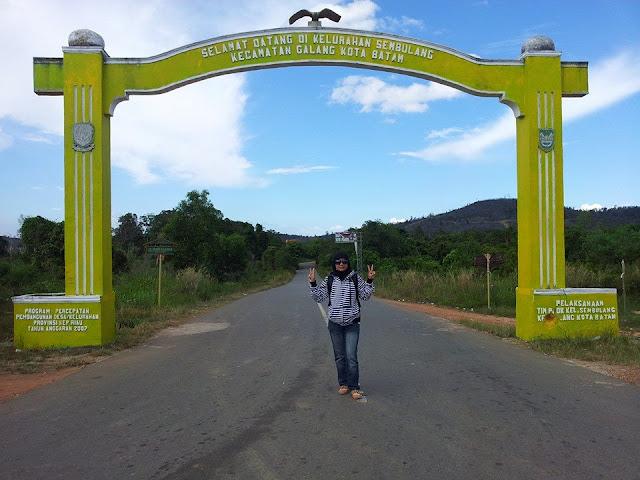 Gerbang Desa Sembulang