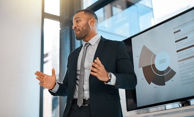 top business presentation tips speaker experts pitch perfect powerpoint slide deck presenting