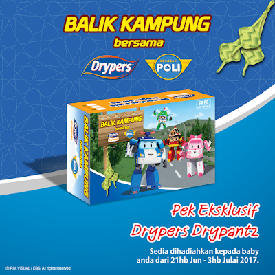 Free Drypers Malaysia Drypantz Exclusive Pack