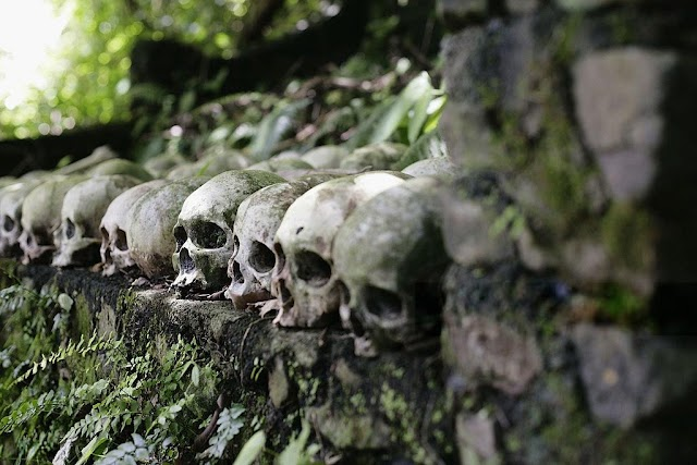 Terrifying skulls island have the spirit 'driving away' the smell of death