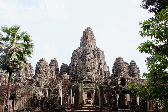Weltreise • Angkor Thom, Kambodscha
