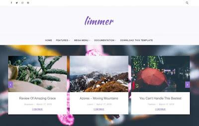 Limmer Premium Blogger Template