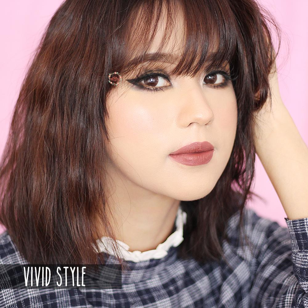 Sasyachi Beauty Diary 1 Day Acuvue Define Vivid Style Natural Softlens 2 Untuk Sendiri Warnanya Lebih Ke Coklat Perlu Di Ingat Bahwa Semua Defineini Tidak Ada Yang Ngejreng