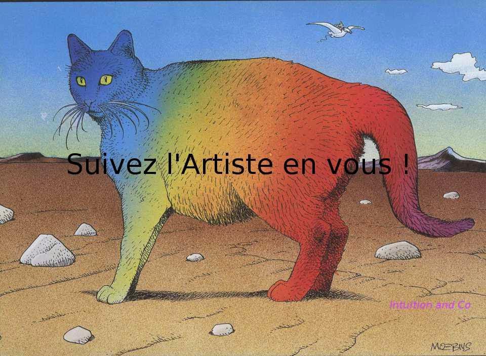 Vous êtes des artistes