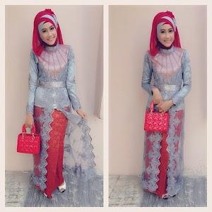 15+ Model Kebaya Muslim Hijab Terpopuler 2018 Trendy, Modis & Modern