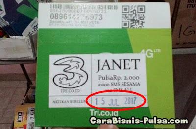 Penyebab Registrasi Kartu Tri Gagal karena Expired
