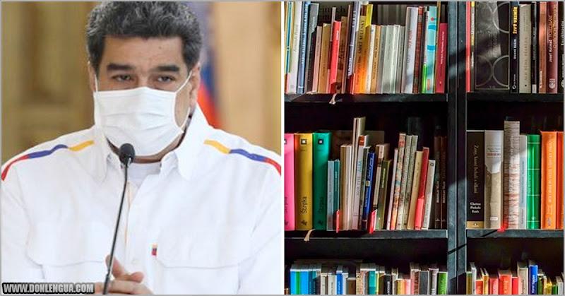 SIN SORPRESA | Maduro considera que las librerías no son importantes