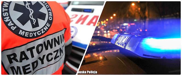 zdjęcie: Stalowa Wola: BMW wypadło z drogi. Nie żyje dwóch młodych mężczyzn