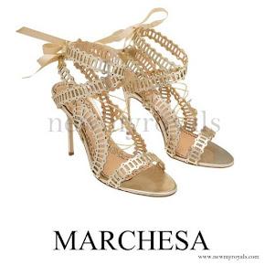 Princess Madeleine wears Marchesa Stella Heels