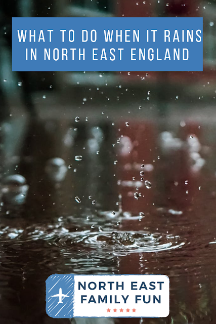What to do when it rains in North East England   20+ places to visit with kids - all accessible via public transport