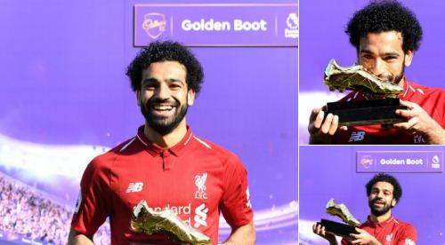 Mohamed Salah Golden Boot Top Skorer Liga Inggris 2017-2018