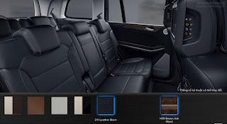 Nội thất Mercedes GLS 500 4MATIC 2015 màu Đen 211