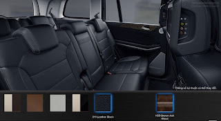Nội thất Mercedes GLS 500 4MATIC 2019 màu Đen 211