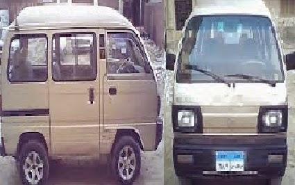 سيارة سوزوكى فان 7 راكب - مشروع سيارة سوزوكى 7 راكب