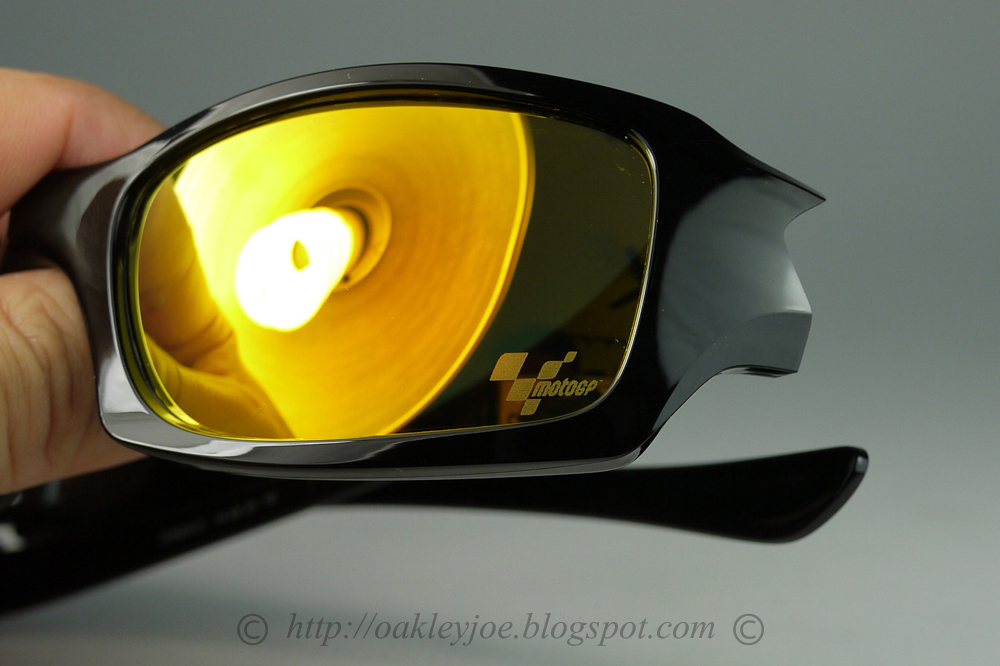 21516721b8 OO9238-01 Fives Squared MotoGP polished black + fire iridium  180 lens pre  coated with Oakley hydrophobic nano solution