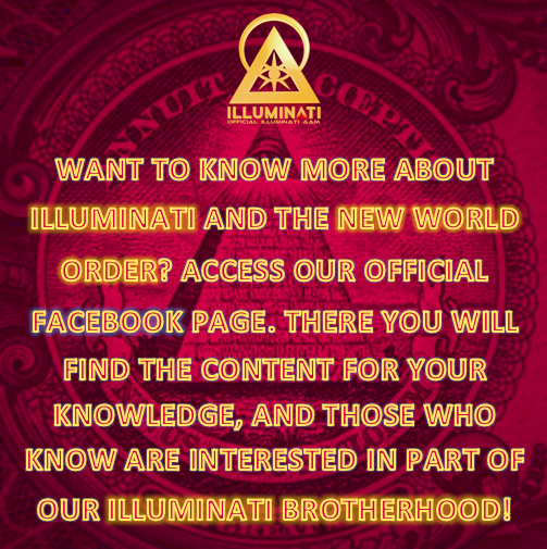 ILLUMINATI | FACEBOOK - Also visit our Facebook page and share our publications.