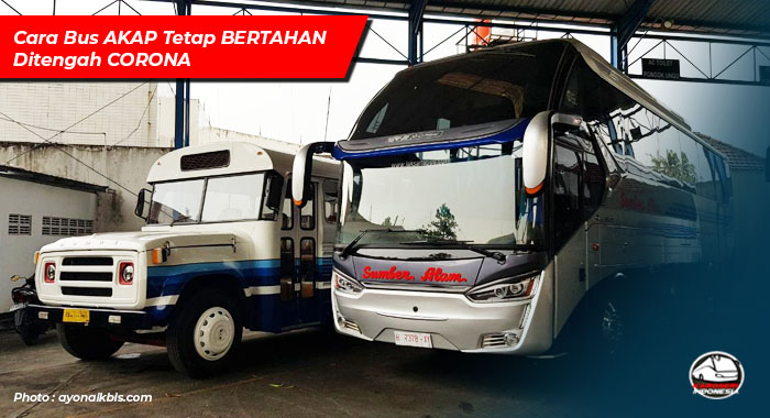 Bus AKAP Jakarta Jogja
