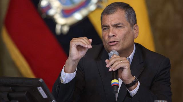 Correa denuncia que Facebook rechazó la apelación para recuperar su página oficial sin especificar razones