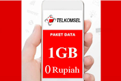 Paket Internet 1 GB Telkomsel Rp0, Begini Cara Aktivasinya!