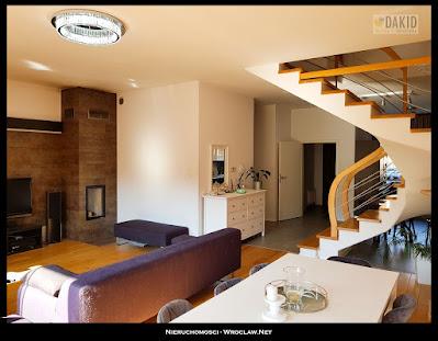 nowoczesny salon w domu