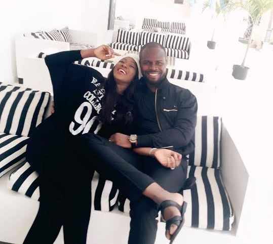 Actress Stephaine Linus & Hubby vacation in Banjul, Gambia